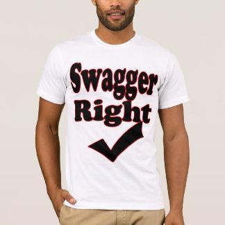 Passade den högra Kontroll-T-Skjortan för Swagger Tröja