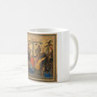 Passion av målning för Jesus KristusCrucifixion Kaffemugg