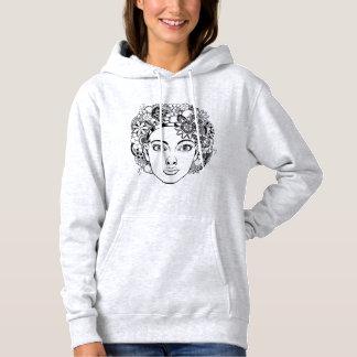 """""""Passion"""" kvinna teckning för ansikte med Tee Shirts"""