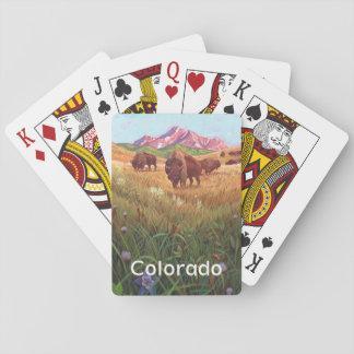 Påstå av Colorado som leker kort Casinokort