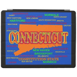 Påstå av den Connecticut kartan, New Haven, iPad Skydd