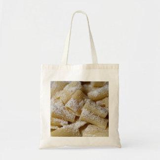 Pasta med parmesanost tygkasse