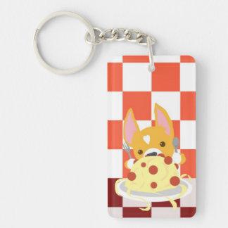 PastaCorgi Nyckelring
