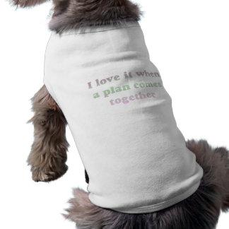 Pastell älskar jag den hundutslagsplatsen hundtröja