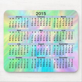 Pastell Mousepad för 2015 kalender
