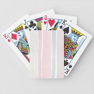 Pastell som leker kort spelkort