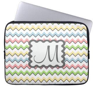 Pastell Sparre-Tappar skuggar med monogramen Datorskydd