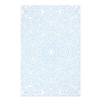 Pastellfärgad brevpapper för blåttlandtäcke