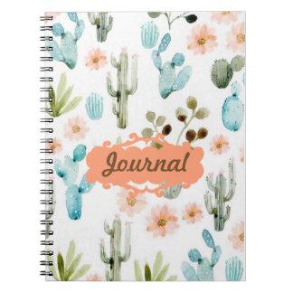 Pastellfärgad fodrad anteckningsbok för