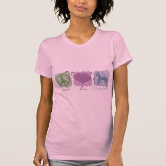 Pastellfärgad fred, kärlek och Xoloitzcuintlis Tröjor