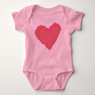 Pastellfärgad hjärta tshirts
