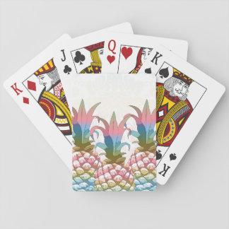 Pastellfärgad lutning ID246 för ananas Casinokort