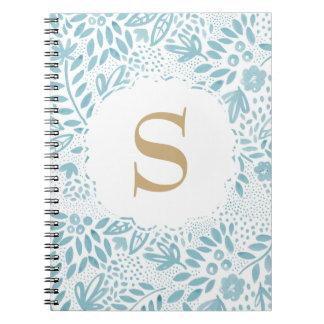 Pastellfärgad personifierad spiral anteckningsbok anteckningsbok
