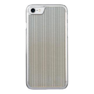 Pastellfärgade baby blue lodrätrandar carved iPhone 7 skal