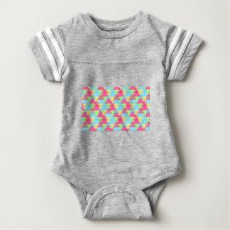 Pastellfärgade trianglar t shirt