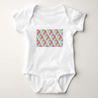 Pastellfärgade trianglar tshirts