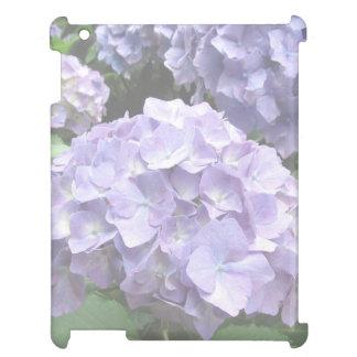 Pastellfärgade vanlig hortensia på Trebah arbeta i iPad Mobil Skal