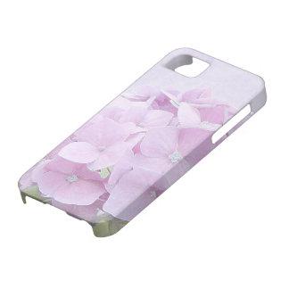 Pastellfärgade vanlig hortensiablommor iPhone 5 fodraler