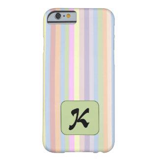 Pastellfärgat randbrevfodral barely there iPhone 6 skal