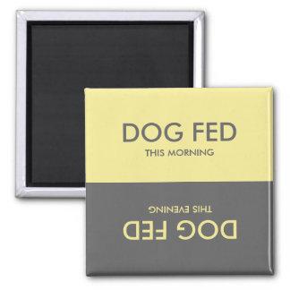 Pastellgultgrått + Magnet för påminnelse för