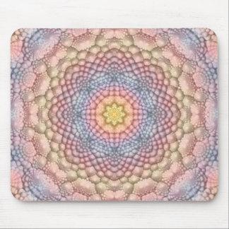 PastellvintageKaleidoscope Mousepad Musmatta