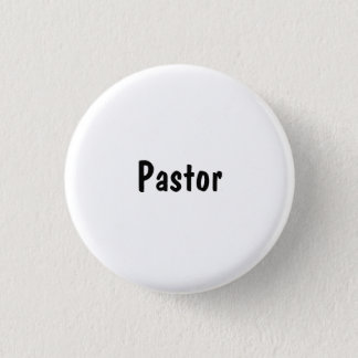 Pastor Mini Knapp Rund 3.2 Cm