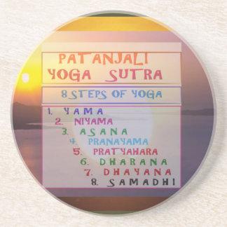 PATANJALI-Yogameditationen Sutra listar Underlägg