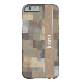 Patchworken kvadrerar barely there iPhone 6 skal