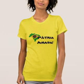 Pátria Amada - Brasil Tee Shirt