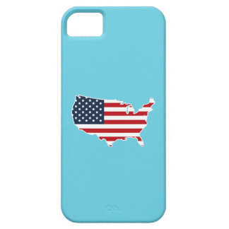 Patriotisk amerikanska flagganUnited States iphone Barely There iPhone 5 Fodral