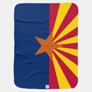Patriotisk bebisfilt med flagga av Arizona