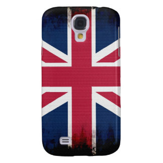 Patriotisk design för brittisk facklig jack för fl galaxy s4 fodral