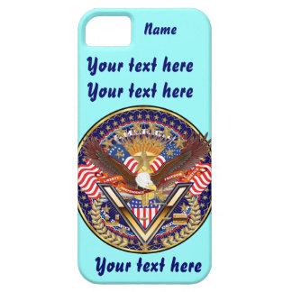 Patriotisk eller veteranplocka en beskådar iPhone 5 Case-Mate fodral
