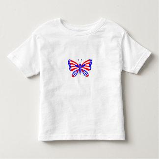 Patriotisk fjäril tröja