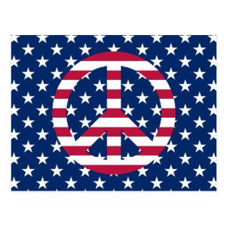 Patriotisk fred vykort