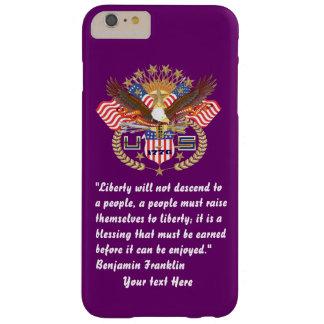 Patriotisk fredskogplommon barely there iPhone 6 plus skal