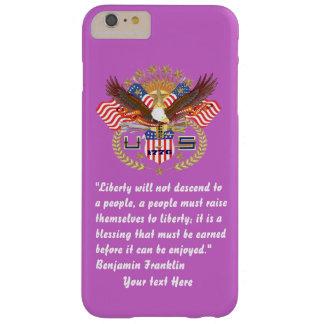 Patriotisk fredskogViolet Barely There iPhone 6 Plus Skal