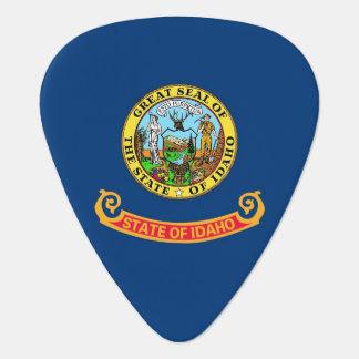 Patriotisk gitarrplocka med flagga av Idaho Plektrum