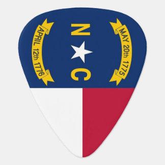 Patriotisk gitarrplocka med flagga av North Plektrum