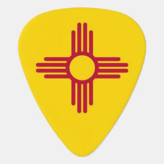 Patriotisk gitarrplocka med flagga av nytt - plektrum