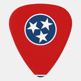Patriotisk gitarrplocka med flagga av Tennessee Plektrum