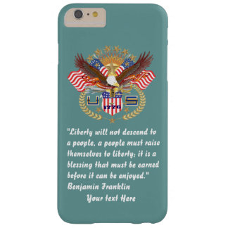 Patriotisk grönt för fredskoghav barely there iPhone 6 plus fodral