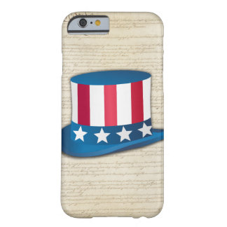 Patriotisk hatt barely there iPhone 6 skal