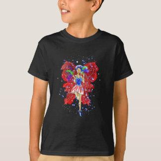 Patriotisk Patsy T-shirts