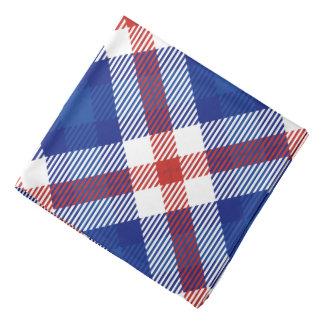 Patriotisk pläd 2 bandana