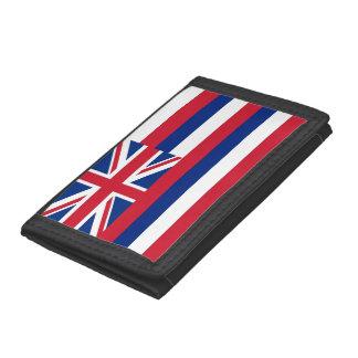 Patriotisk plånbok med flagga av Hawaii
