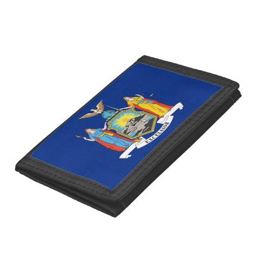 Patriotisk plånbok med flagga av New York