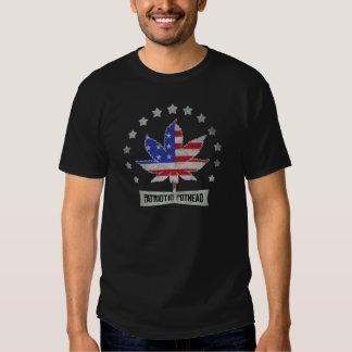 Patriotisk PotheadmörkT-tröja Tröjor