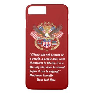 Patriotisk röd frihetfredRuby