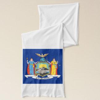Patriotisk Scarf med flagga av New York Sjal